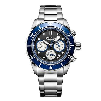 724bc2204836 Rotary Men s Sports Stainless Steel Chronograph Watch - Product number  6145019
