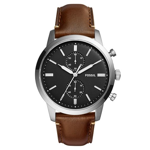 Fossil Townsmen Men's Stainless Steel Strap Watch - Product number 6153194