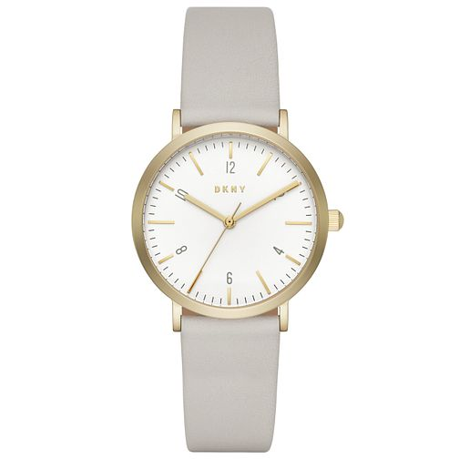 DKNY Ladies' Gold Tone Strap Watch - Product number 6153321