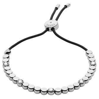 Fossil Glitz Stainless Steel Bead Bracelet - Product number 6154670