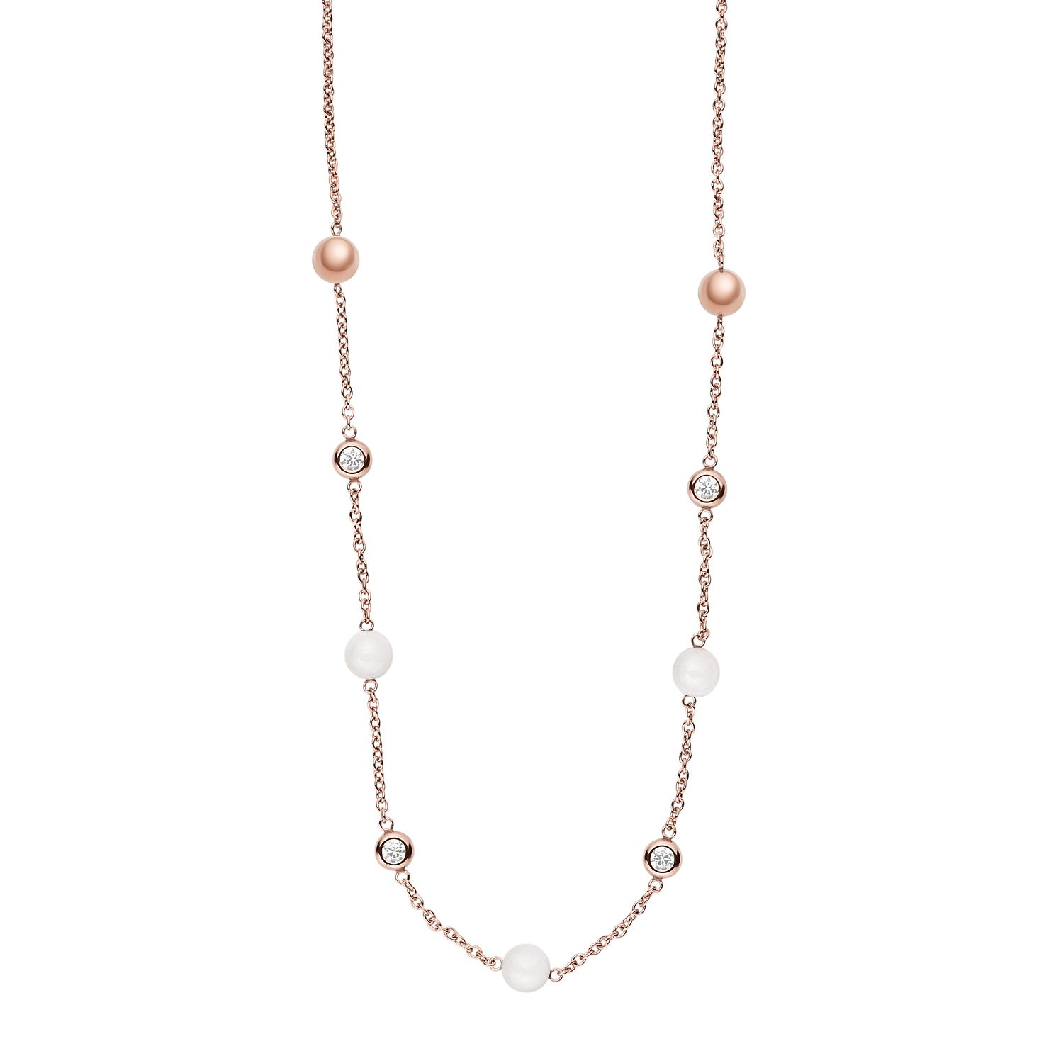 Skagen Seaglass Rose Gold Tone Necklace - Product number 6165214