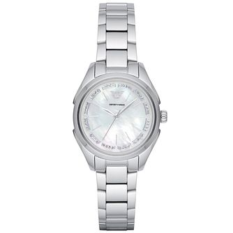 Emporio Armani Ladies' Stainless Steel Bracelet Watch - Product number 6171494