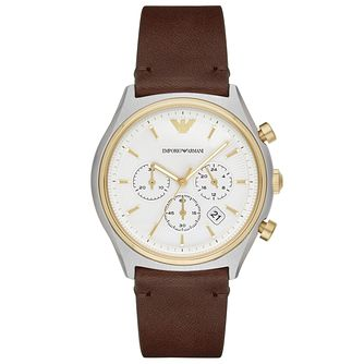 Emporio Armani Men's Two Colour Strap Watch - Product number 6171591