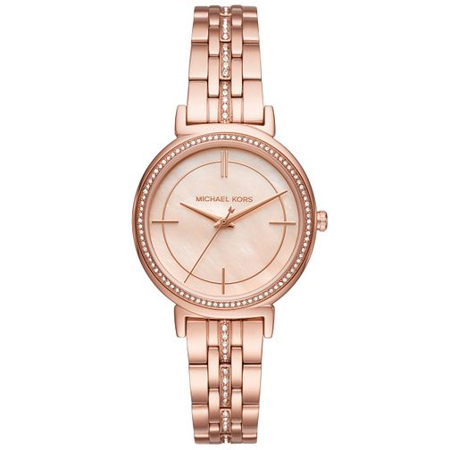Michael Kors Ladies' Rose Gold Tone Bracelet Watch - Product number 6171753