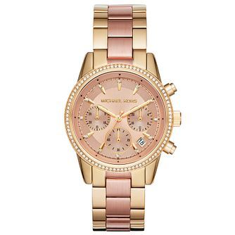 Michael Kors Ladies' Two Colour Bracelet Watch - Product number 6171990