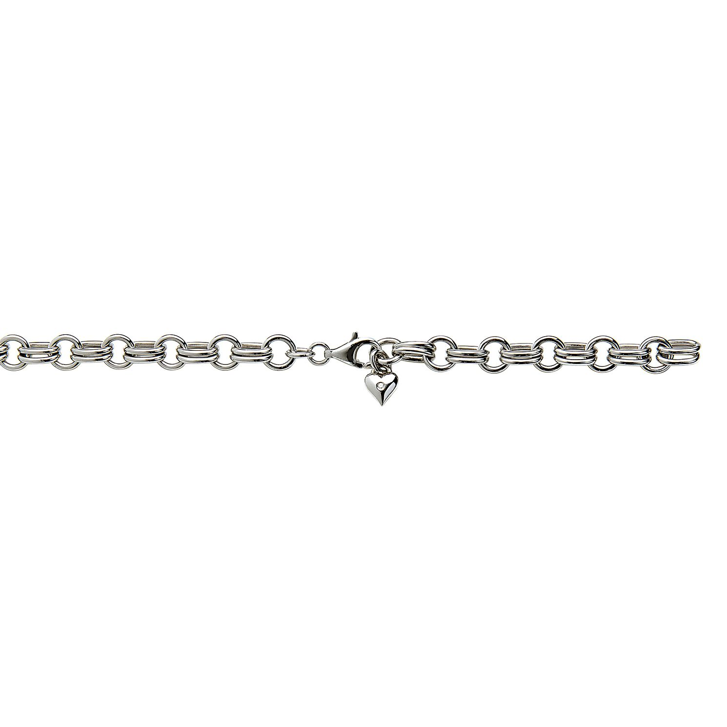 Hot Diamonds Charm Heart Silver Bracelet - Product number 6181147
