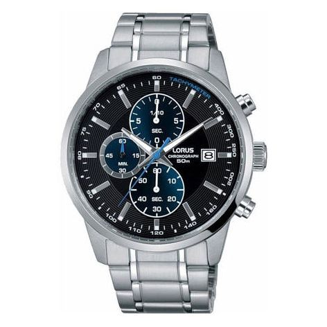 Lorus Men's Chronograph Stainless Steel Bracelet Watch - Product number 6183387