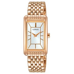 Lorus Ladies' Rose Gold Side Wrapped Bracelet Watch - Product number 6183638