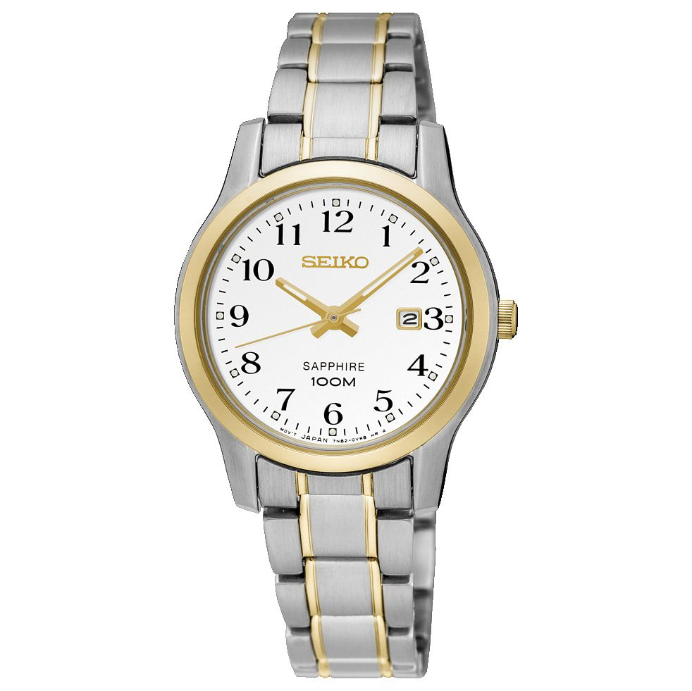 Seiko Sapphire Ladies' 2 Colour Steel Bracelet Watch - Product number 6187838