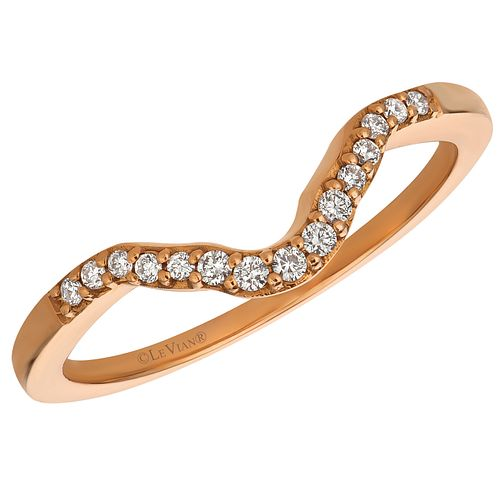 Le Vian 14ct Strawberry Gold Diamond Band - Product number 6206506