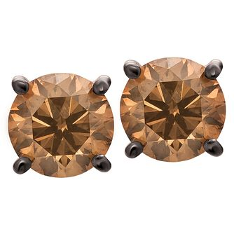 Le Vian 14ct Strawberry Gold 0.90ct Diamond Stud Earrings - Product number 6207006