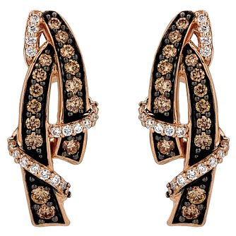 Le Vian 14ct Strawberry Gold 0.45ct Diamond Earrings - Product number 6207790