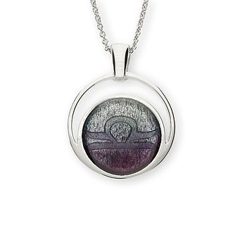 Ortak Sterling Silver Zodiac Libra Pendant - Product number 6209637