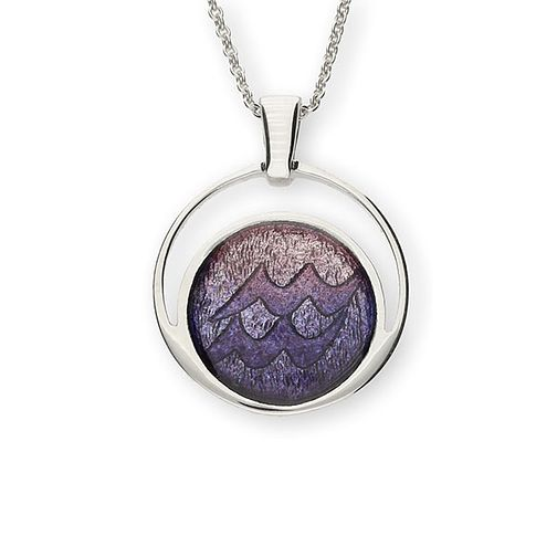 Ortak Sterling Silver Zodiac Aquarius Pendant - Product number 6209793