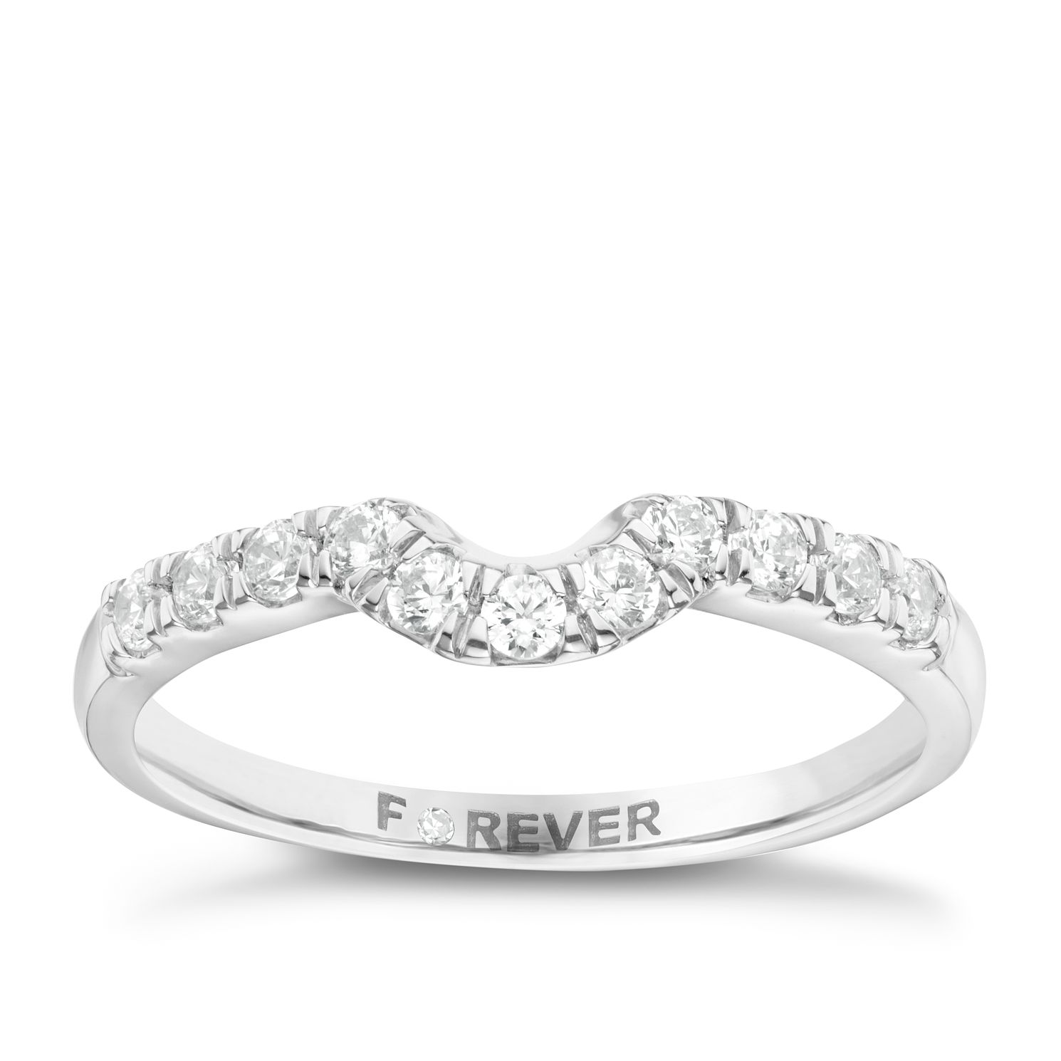 The Forever Diamond 18ct White Gold 0.25ct Ring - Product number 6213472