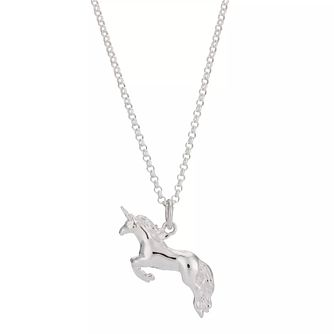 Lily Charmed Silver Unicorn Pendant - Product number 6214215
