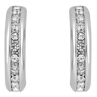 Buckley London Shoreditch Rhodium-Plated Hoop Earrings - Product number 6221165