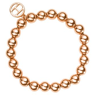 Tommy Hilfiger Rose Gold Plated Beaded Bracelet - Product number 6222838