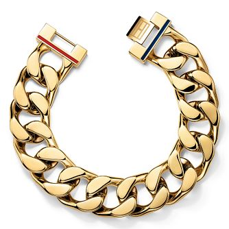 Tommy Hilfiger Gold Plated Chunk Chain Bracelet - Product number 6222846