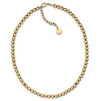 Tommy Hilfiger 18 inches Gold Plated Beaded Necklace - Product number 6223028