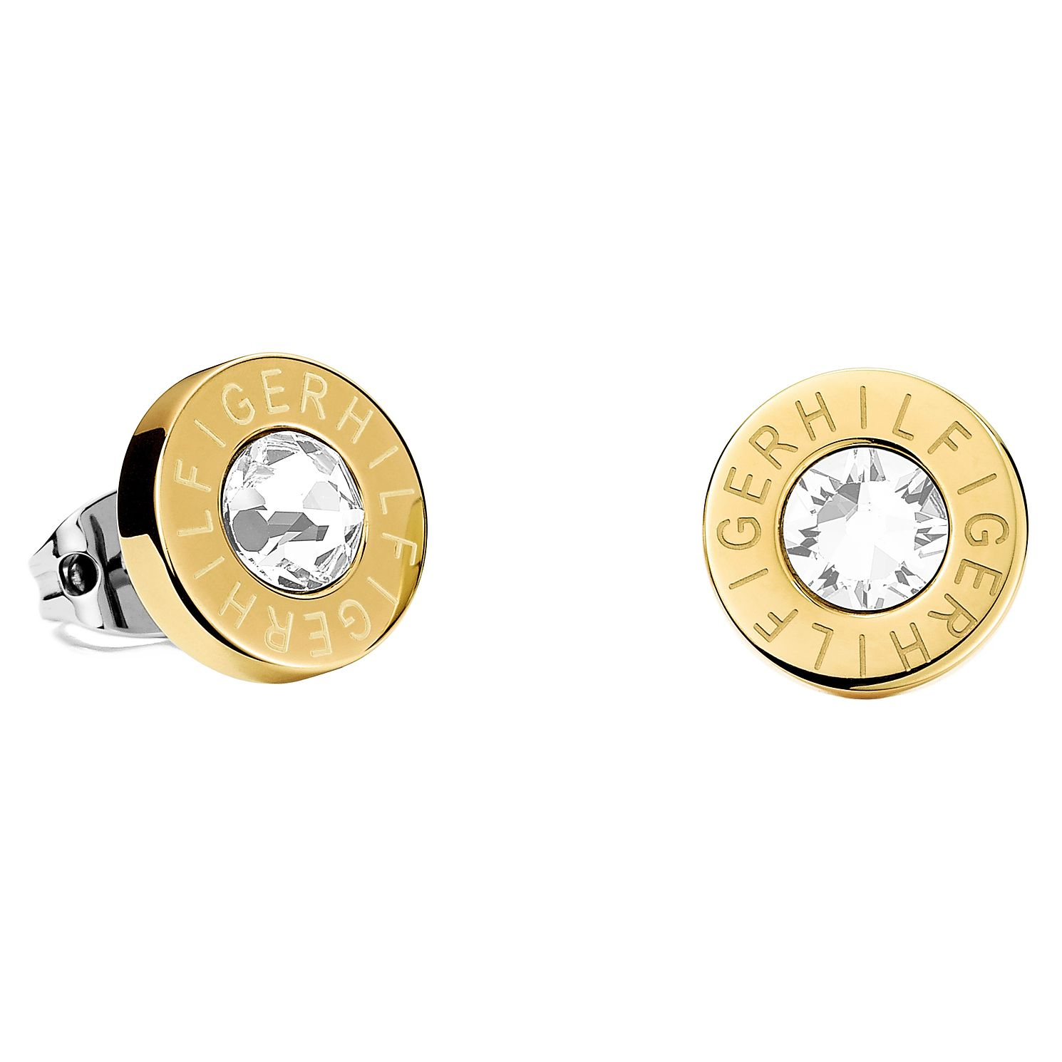 Tommy Hilfiger Gold Plated Stud Earrings - Product number 6223095