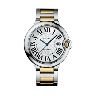 Cartier Ballon Bleu Men's Two Colour Bracelet Watch - Product number 6227171