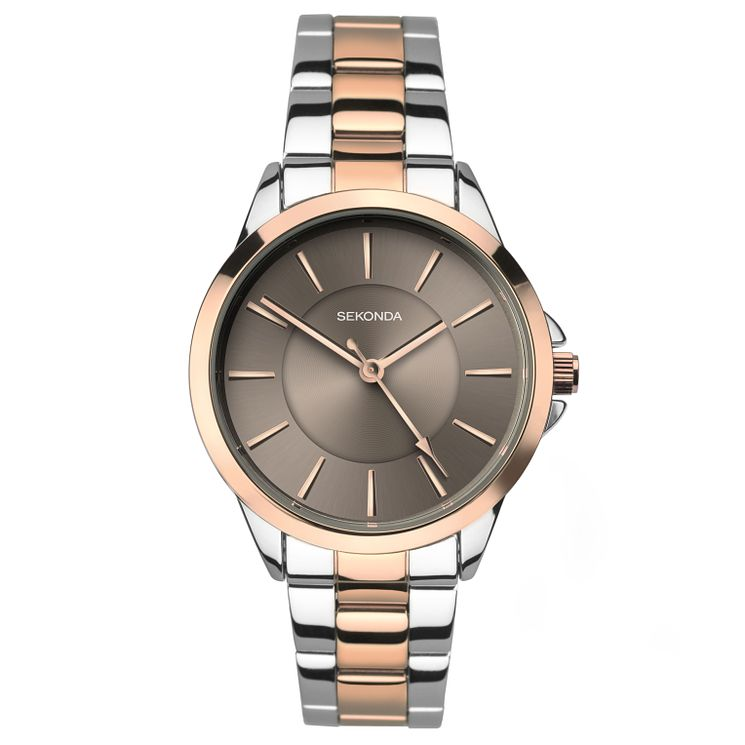 Sekonda Editions La s Two Tone Bracelet Watch