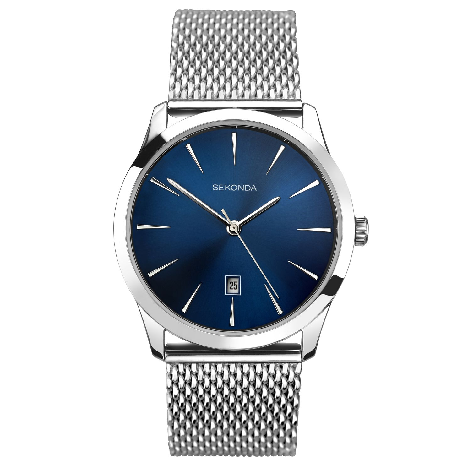 Sekonda Men's Stainless Steel Mesh Bracelet Watch - Product number 6231446