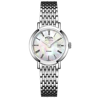 Rotary Les Originales Windsor Stainless Steel Bracelet Watch - Product number 6232310