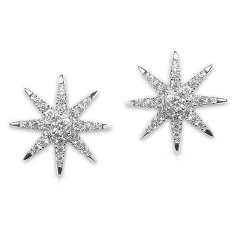CARAT* LONDON Stella Vega sterling silver Stud Earrings - Product number 6235182