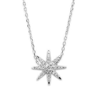 CARAT* LONDON Stella Atrias Sterling Silver Pendant - Product number 6235263