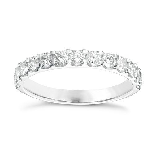9ct White Gold 0.66ct Diamond Eternity Ring - Product number 6239781