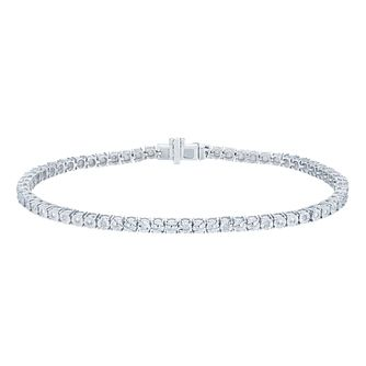 Sterling Silver 1/10 Carat Diamond Tennis Bracelet - Product number 6245765