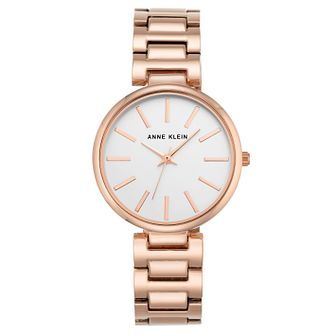Anne Klein Ladies' Rose Gold-Plated Mesh Bracelet Watch - Product number 6246168