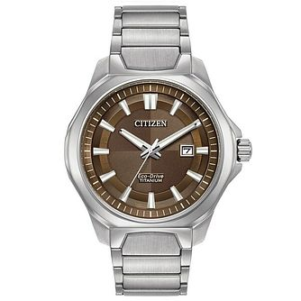 Citizen Eco-Drive Men's Super Titanium Bracelet Watch - Product number 6246931