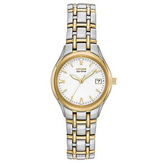 Citizen Ladies' Two Tone Stainless Steel Bracelet Watch - Product number 6246990
