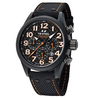 Tw Steel Dakar Men's Black Strap Watch - Product number 6250335