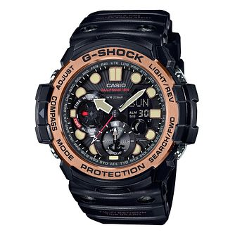 Casio G-Shock Men's Gulfmaster Black Resin Watch - Product number 6251080