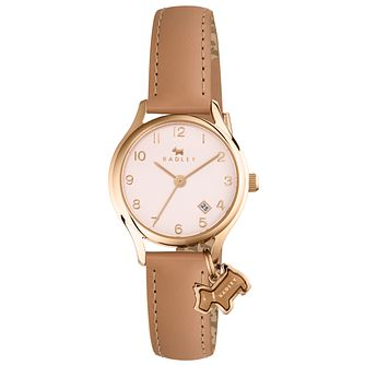 Radley Ladies' Nude Dial Nude Leather Strap Watch - Product number 6251749