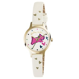 Radley Ladies' Cream Dial Cream Leather Strap Watch - Product number 6251854