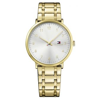 Tommy Hilfiger Men's Gold Plated Bracelet Watch - Product number 6252052