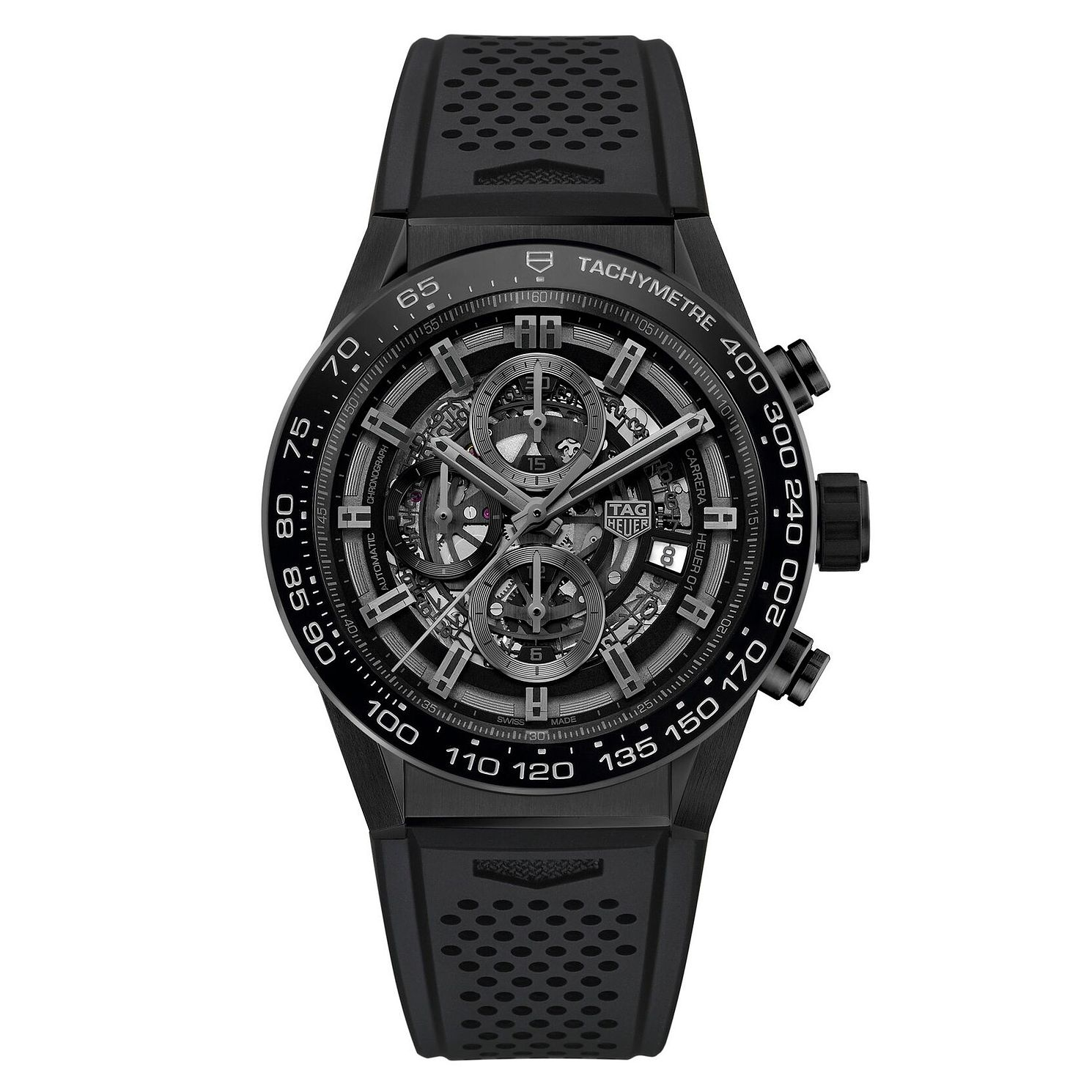 TAG Heuer Carrera Men's Ceramic Strap Watch - Product number 6252281