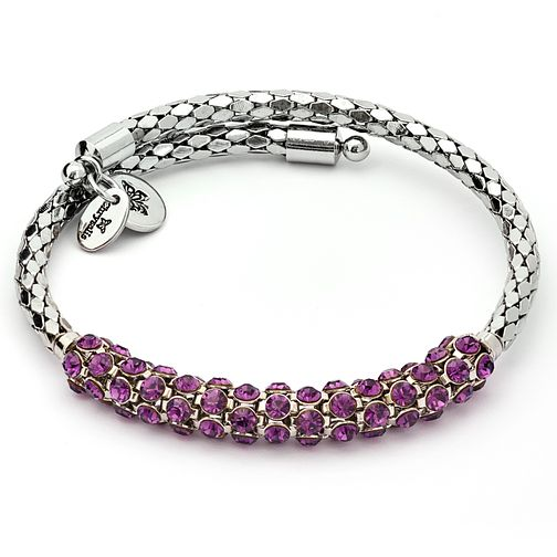 Chrysalis Freedom Amethyst Crystal Bohemia Bangle - Product number 6252818
