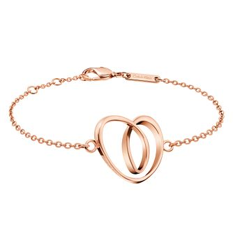 Calvin Klein Warm Rose Gold Tone Bracelet - Product number 6253032