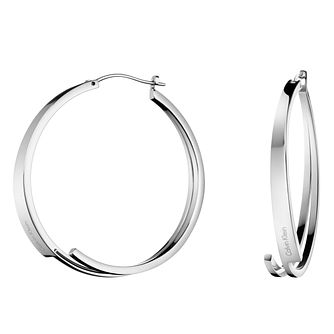 Calvin Klein Stainless Steel Beyond Hoop Earrings - Product number 6253393