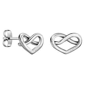 Calvin Klein Charming Stainless Steel Stud Earrings - Product number 6253466