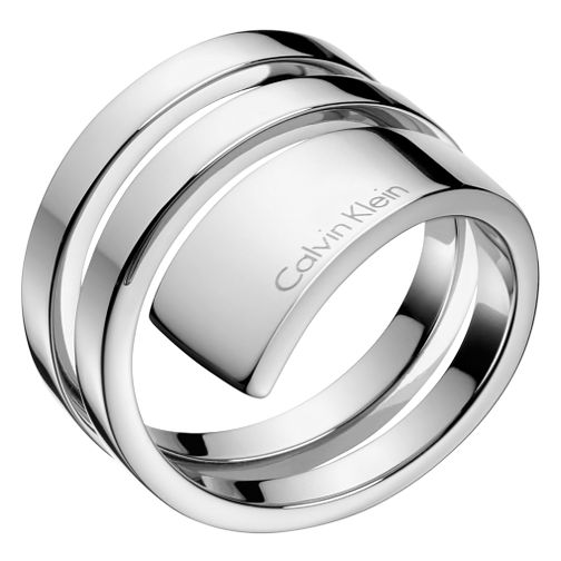 Calvin Klein Beyond Stainless Steel Ring Size 8 - Product number 6253504