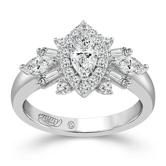 Emmy London Platinum 1ct Diamond Ring - Product number 6262597