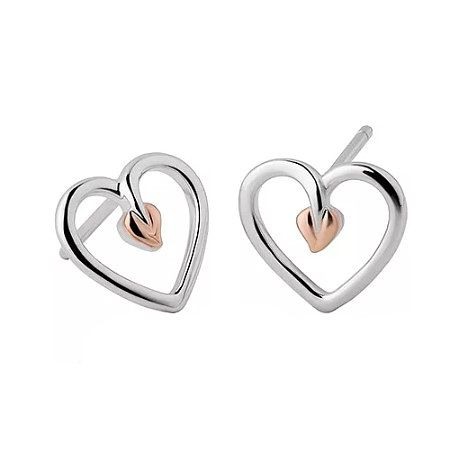 Clogau Tree of Life Heart Earrings - Product number 6289827