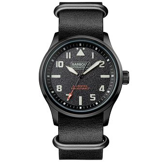Barbour Men's Ion Plated Strap Watch - Product number 6291015